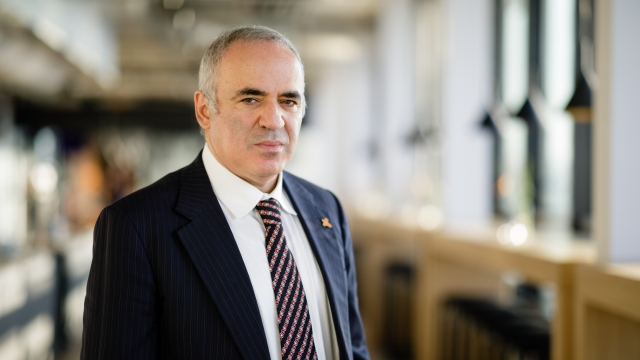 Exclusive: Garry Kasparov: Collaborative Innovation will Save the World