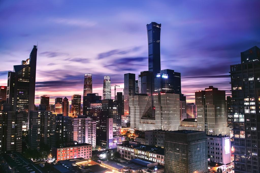 high rise building china bejing
